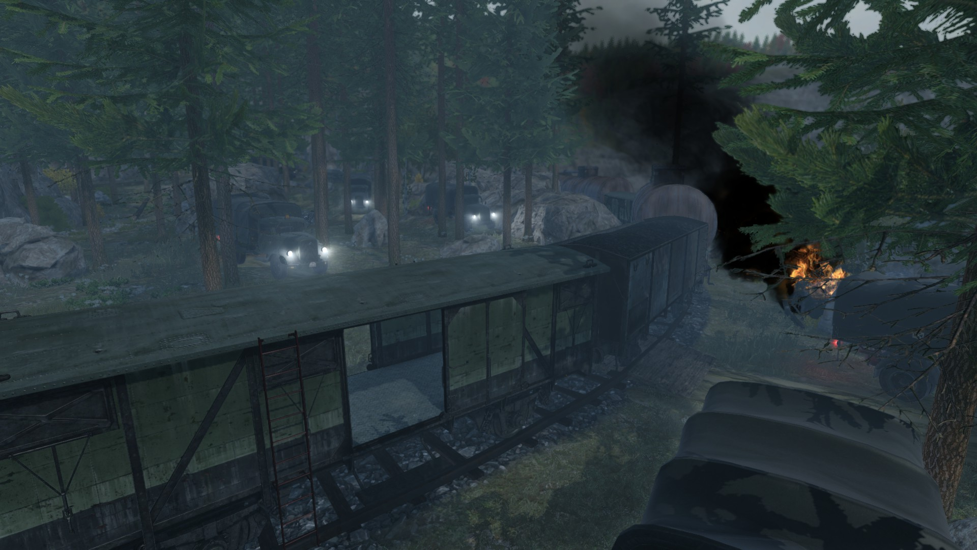 RAID Forest Convoy Screenshot